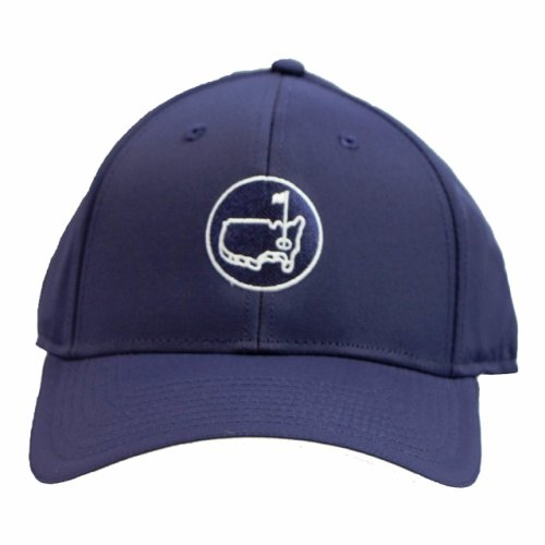 Masters Navy Performance Hat with Round Logo