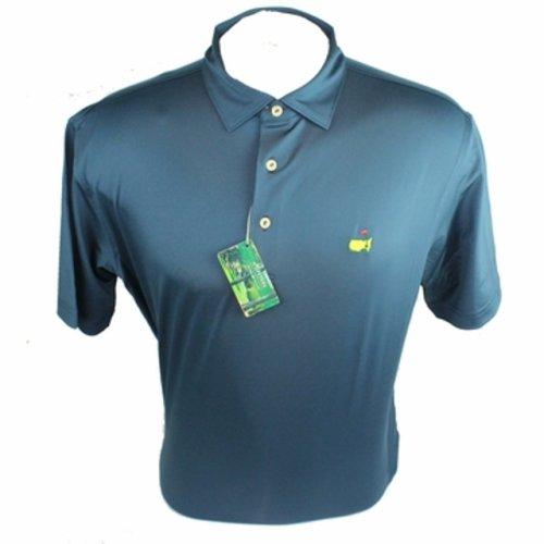 Masters Navy Peter Millar Performance Tech Golf Shirt