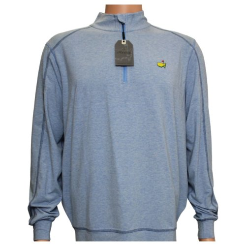 Masters Northern Sky Blue Tech Quarter Zip Pullover