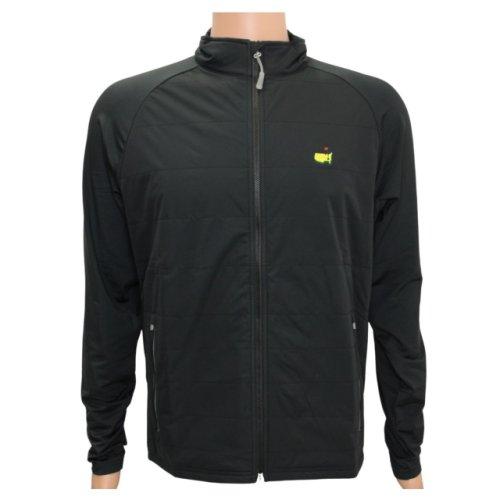 Masters Peter Millar Full-Zip Black Jacket