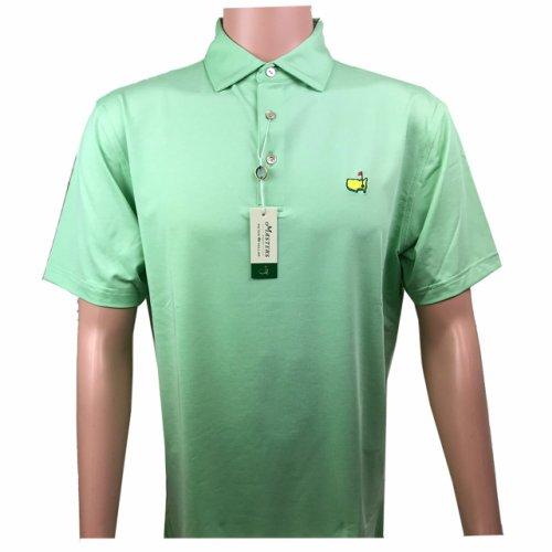 Masters Peter Millar Grass Performance Tech Golf Shirt