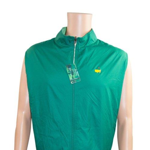 Masters Peter Millar Green/Lime Green Reversable Performance Tech Vest