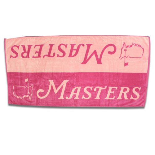 Masters Pink & Light Pink Beach Towel