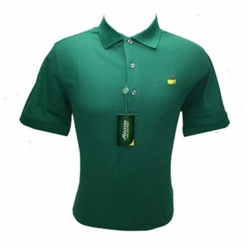 Masters Polo Shirt - Green - 100% Pima Cotton