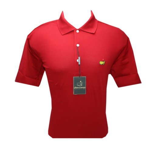 Masters Polo Shirt - Red - 100% Pima Cotton (pre-order)