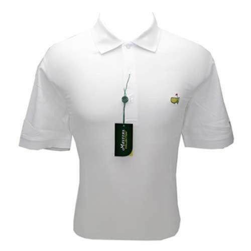 Masters Polo Shirt - White - 100% Pima Cotton