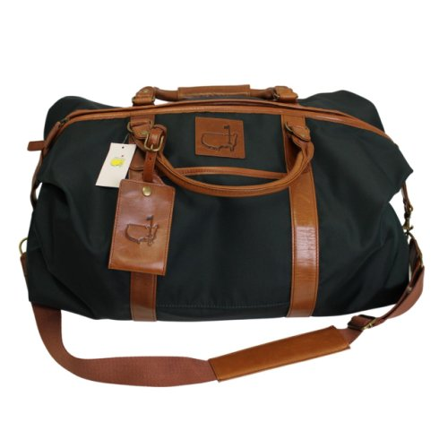 Masters Premium Duffle Bag with Brown Leather Bottom and Handles