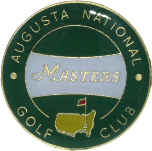 Masters Single Green Ball Marker