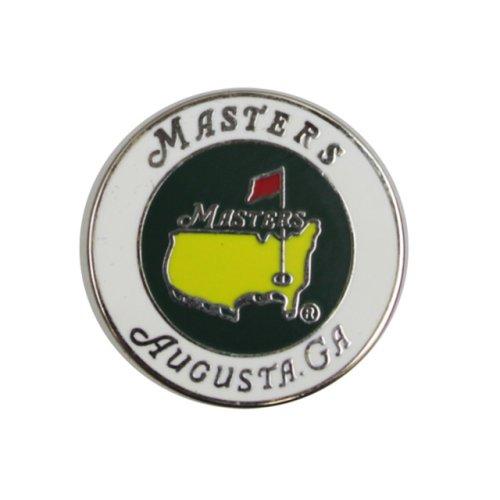 Masters Single White Ball Marker