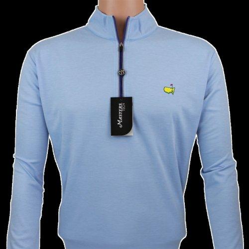 Masters Sky Blue Performance Tech Quarter Zip Pullover
