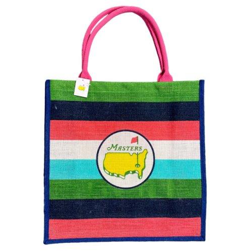 Masters Striped Jute Bag