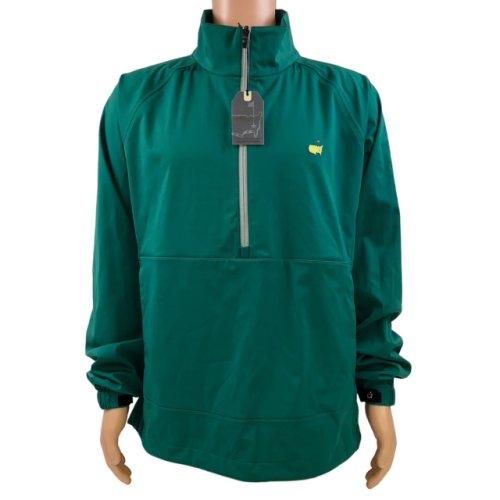 Masters Tech Long Sleeve Wind Shirt - Green