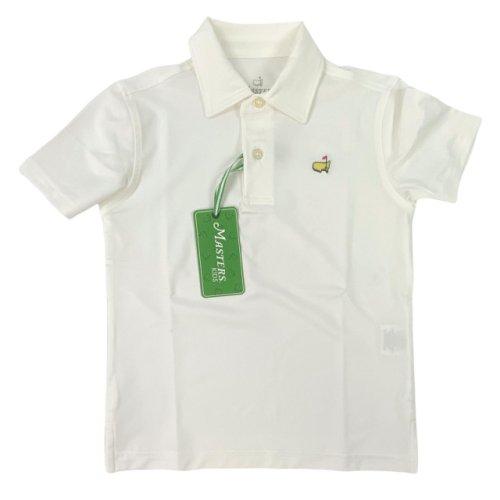 Masters Toddler's Golf Shirt - White