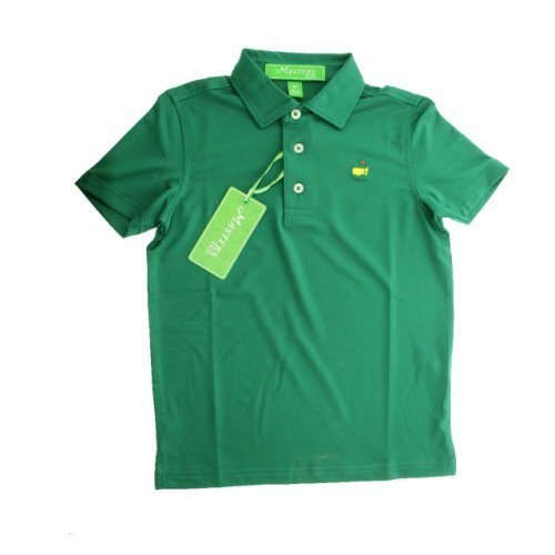 Masters Toddlers Performance Tech Golf Shirt - Green