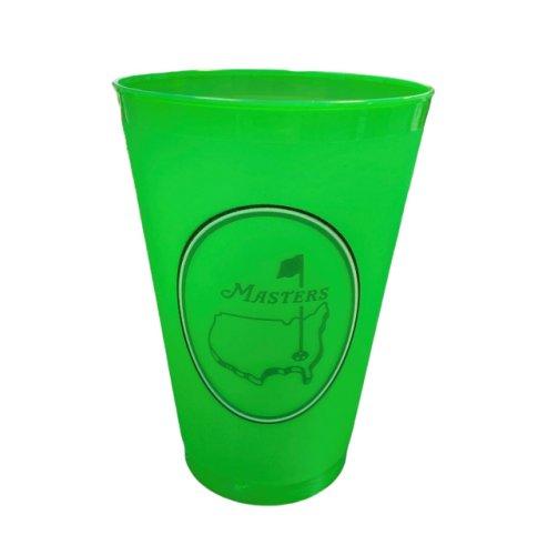 Masters Undated Berckman's Green Plastic Cup - Flag Logo