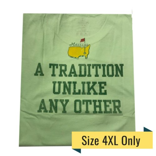 Masters Undated T - Shirt Tradition - Mint Green