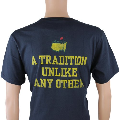 Masters Undated T - Shirt Tradition - Navy