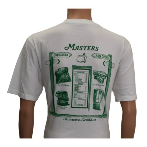 Masters White Concessions Shirt
