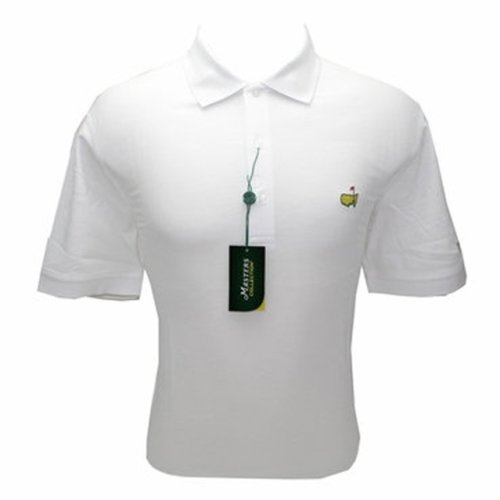 Masters White Jersey Golf Shirt (pre-order)