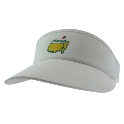 Masters White Performance Tech Golf Visor