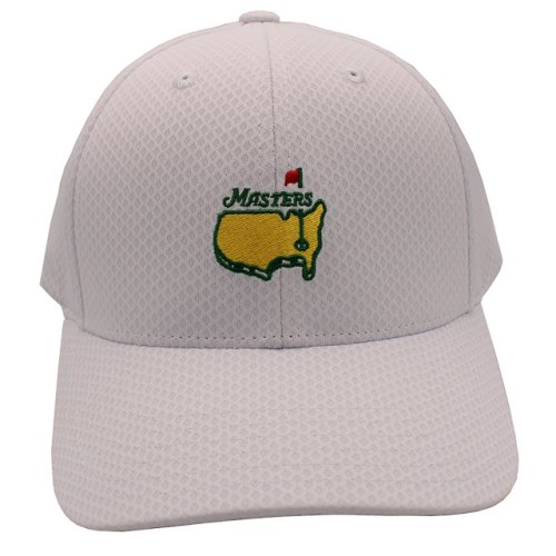 Masters White Performance Tech Hat