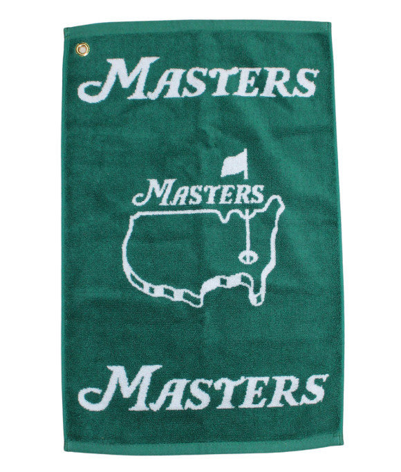 Masters Woven Green Towel