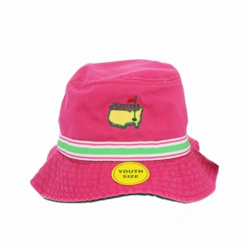 Masters Youth Bucket Hat Pink