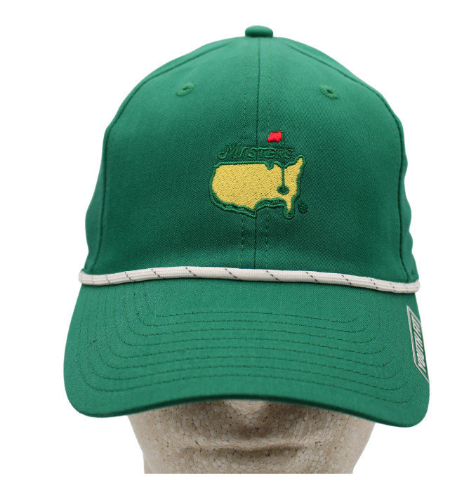 Masters Youth Green Performance Rope Hat