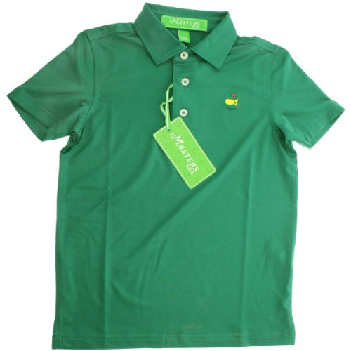 Masters Youth Performance Tech Golf Shirt - Green