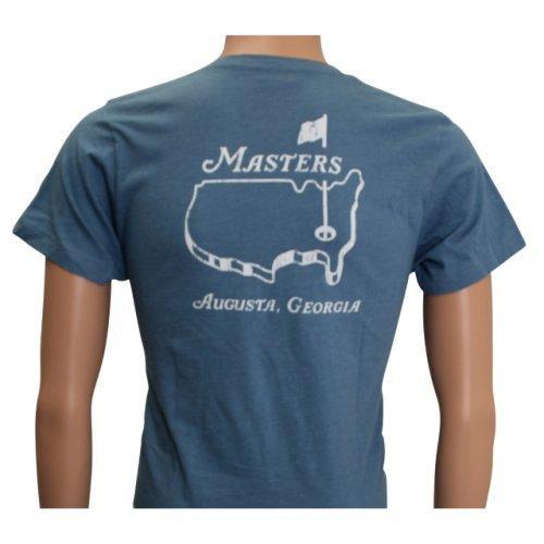 Masters Youth Slate Blue Logo T-Shirt