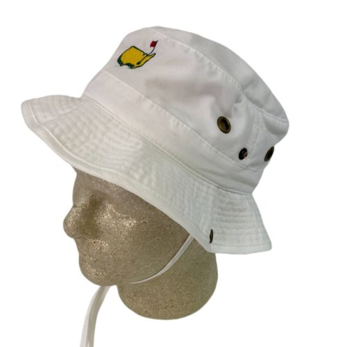 Masters Youth White Bucket Hat
