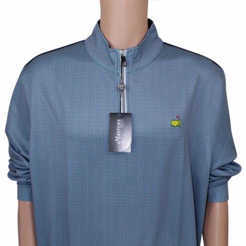 Masters Zany Blues 1/4 Zip Performance Tech Jacket