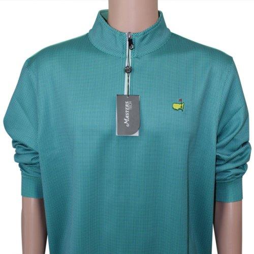 Masters Zany Greens 1/4 Zip Performance Tech Jacket