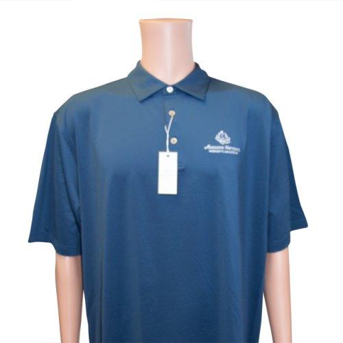 Men's Polo ANWA Tech Golf Shirt - Navy