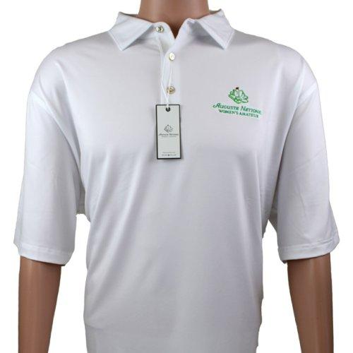 Men's Polo ANWA Tech Golf Shirt - White