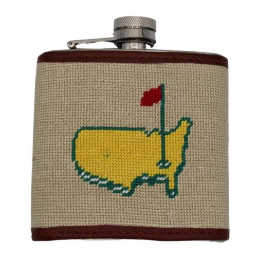 Smathers & Branson Masters Needlepoint Flask