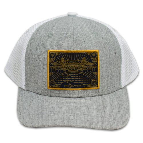 The Players Grey and White 17th Hole Patch Hat
