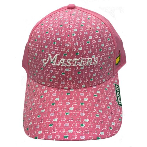Youth Masters Pink Pattern Hat