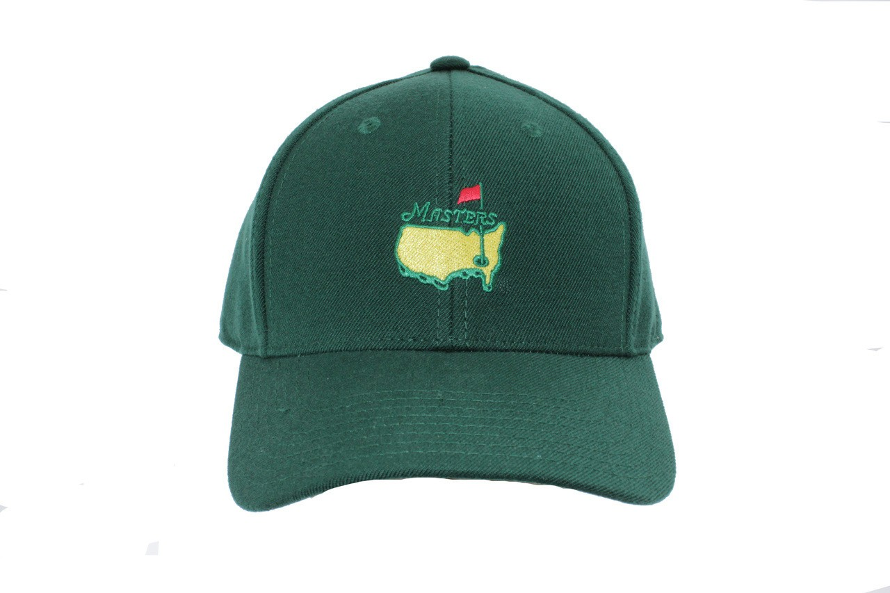 077300dfdb1 Masters Green Golf Fitted Hat