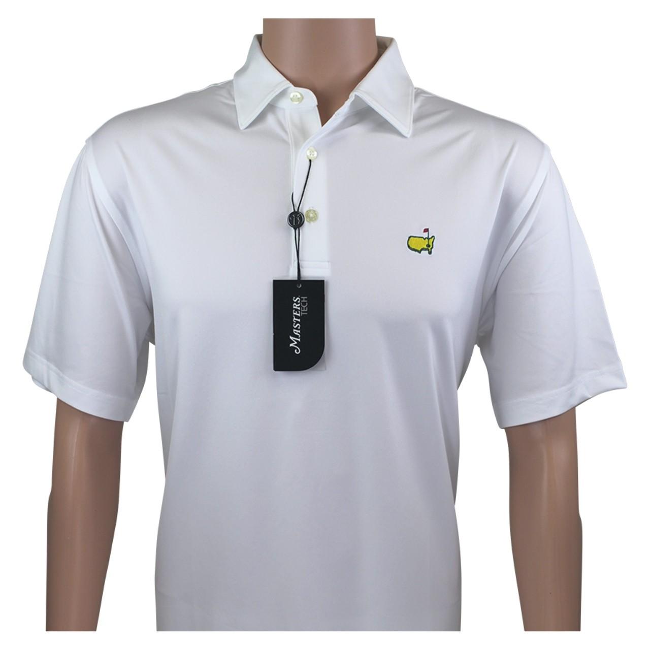 32272e17883 Masters White Performance Golf Shirt