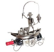 Fisherman in a Boat Gift Basket