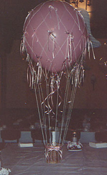 Hot Air Balloon Gift Basket