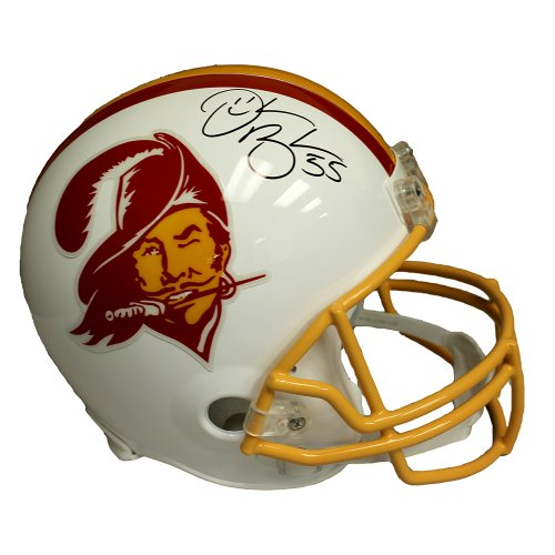 Derrick Brooks Autographed Tampa Bay Buccaneers Throwback Riddell Speed Replica Full Size Helmet - JSA Certified Authentic