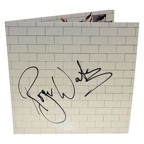 Roger Waters Pink Floyd Autographed 'The Wall' Album Cover - Full Album with Records - PSA/DNA Authentic