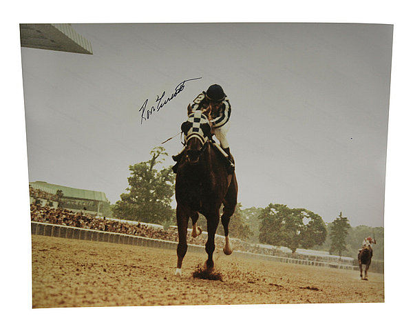Ron Turcotte Autographed 16x20 Photo Horse Racing - Certified Authentic
