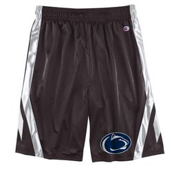 Penn State Mens Mesh Shorts Charcoal