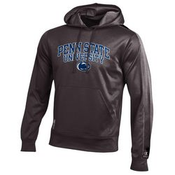 Penn State University Performance Hooded Sweatshirt Charcoal