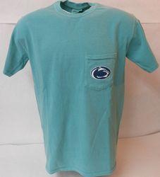 Penn State Classic Pocket T Shirt Seafoam