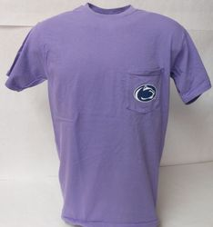 Penn State Pocket T Shirt Violet