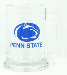 Penn State 15 oz Glass Mug Varsity Logo
